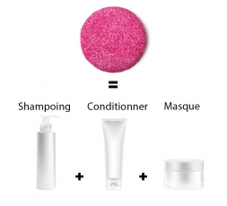 Shampoing Solide Cheveux Sec / Normaux - Vegan