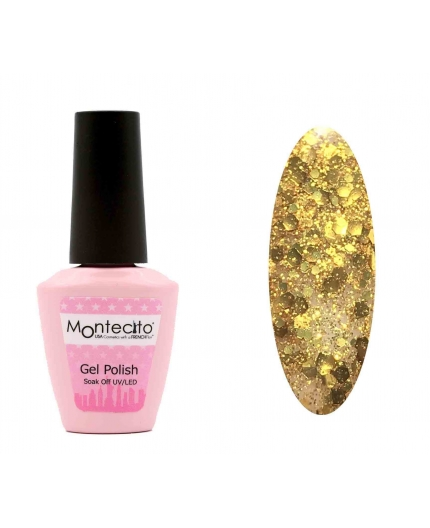Vernis Permanent Absolute Star Powder Gold